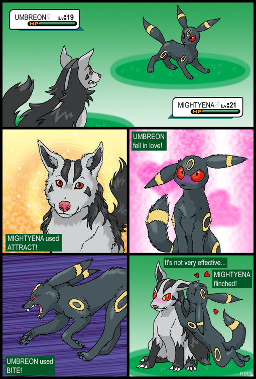http://racieb.meowcorp.us/fanart/Mightyena_vs_Umbreon_by_RacieB.jpg
